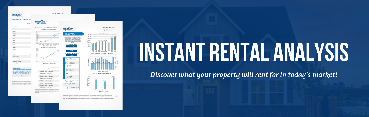Instant Rental Analysis | Good Life Property Management
