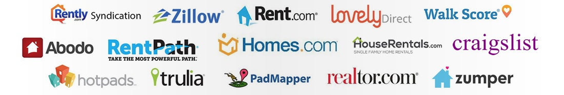 We Advertise Your Property on the Top Rental Websites